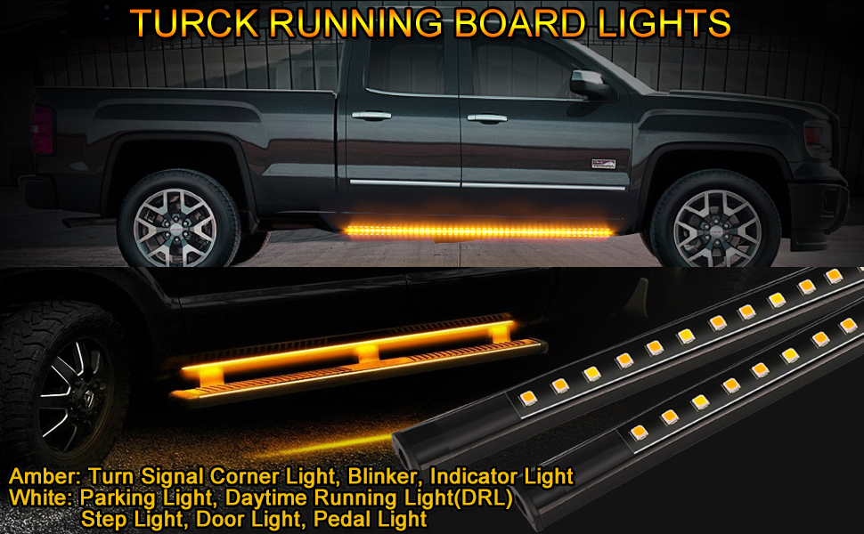 70inch Truck LED Running Board Light