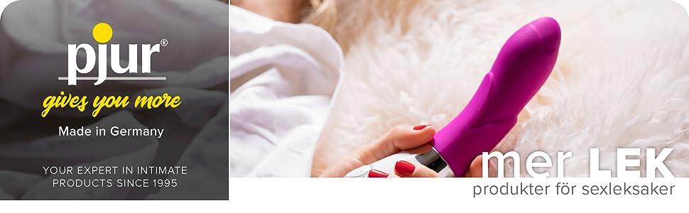 mer lek – produkter för sexleksaker