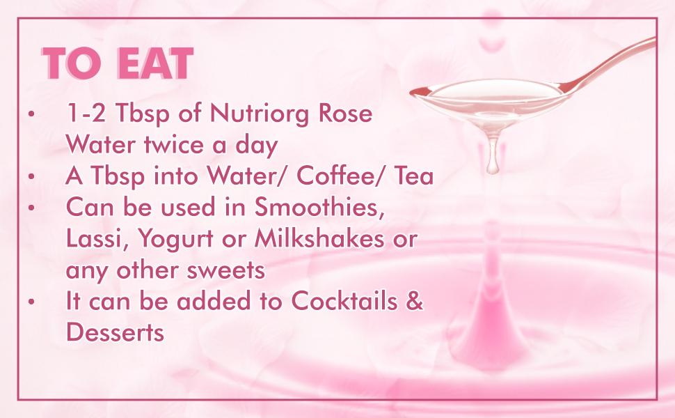 Nutriorg Rose water