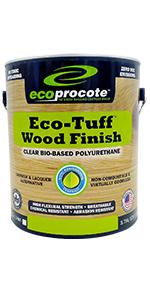 Eco-Tuff Wood Finish - Wood Varnish Alternative