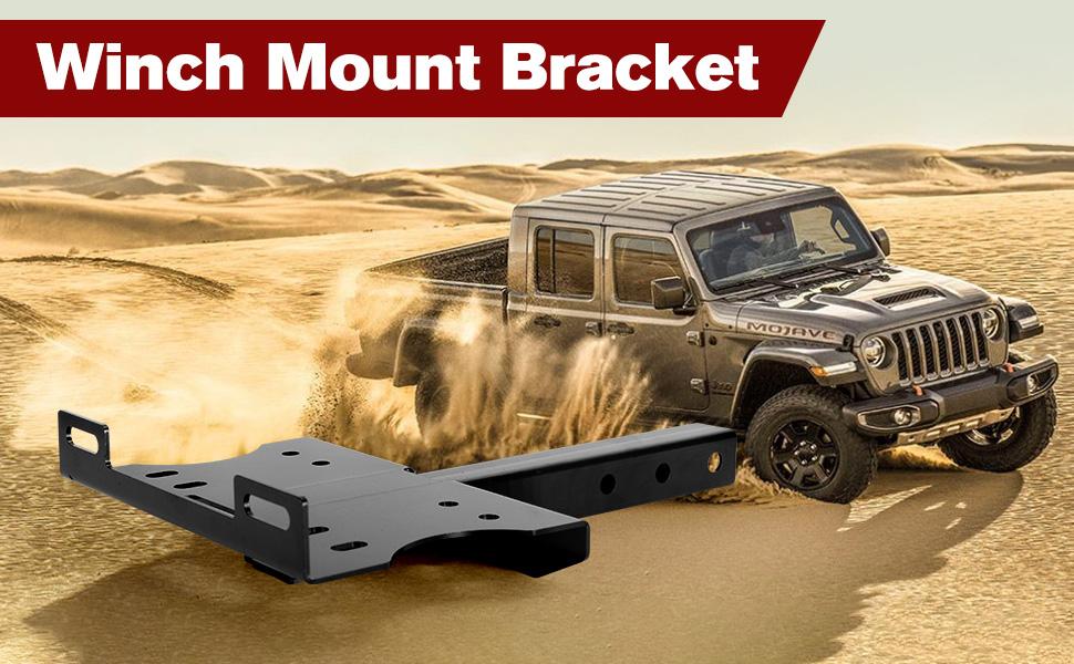 WINCH MOUNT BRACKET