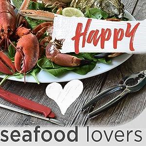 picks, seafood lovers gift, stone, cutter, dishwasher safe, sea food kit, leg cracking, leg cracker
