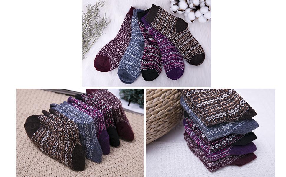 sock wool women