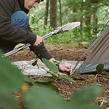 camping shovel survival shovel tactical shovel folding shovel