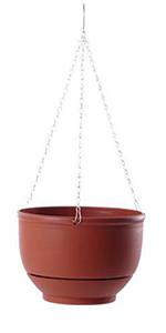 Ceramic Plastic Flowerpot