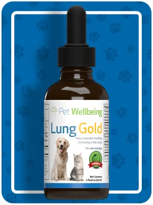 Lung cat feline Natural Breathing Support respiratory infection cough wheezing collapsed trachea