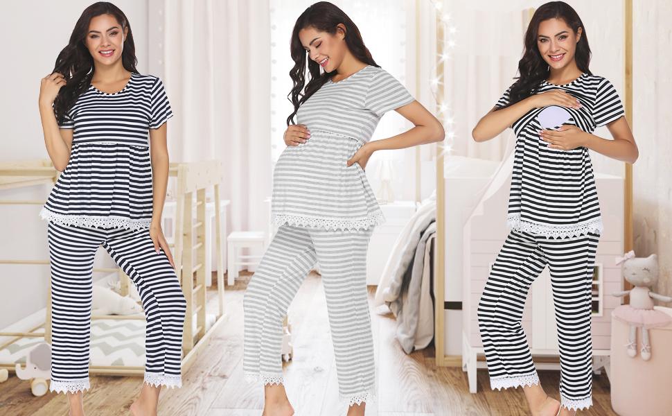Maternity Nursing Pajamas