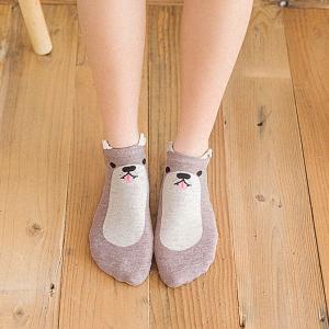 PT/_ LK /_ 5 colori da donna O RAGAZZA COTONE casuale Pois Calzini alla caviglia