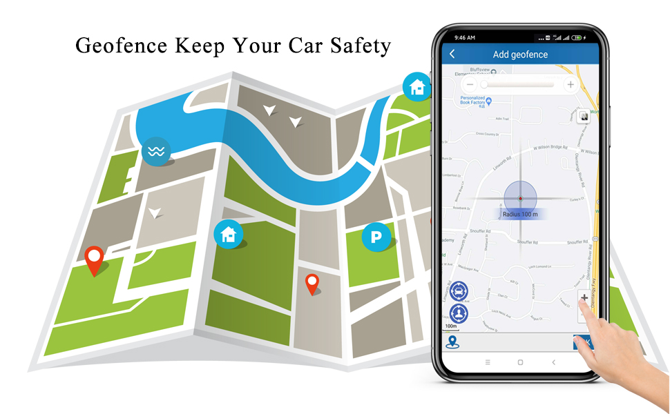 OBD2 GPS Tracker for Vehicles