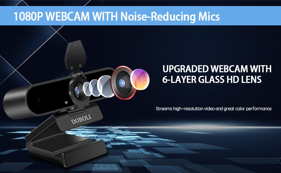 Doboli Webcam with Microphone