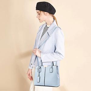 light blue purses and handbags