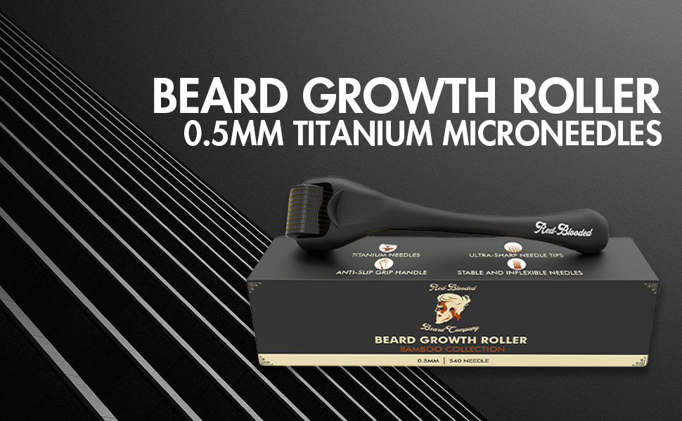 face roller derma roller beard growth kit beard kit beard brush mens grooming kits hair growth beard