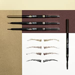 eyebrow pencil eyebrow brush eyebrow gel brow gel eye pencil