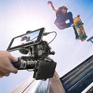 スケートボード ストリート GoPro hero7 スマートフォン サブディスプレイ モバイルバッテリー