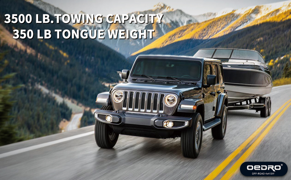 trailer hitch receiver for Jeep
