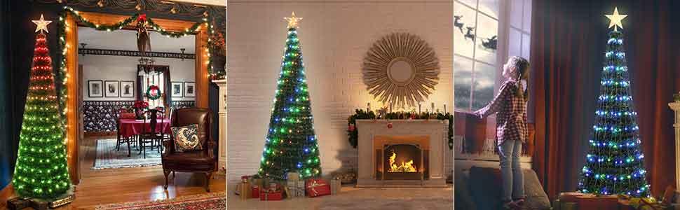 prelit color changing christmas lights