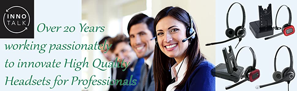 Call Center Commercial Headset for Polycom Avaya Cisco Phone compete with Plantronics Headsets