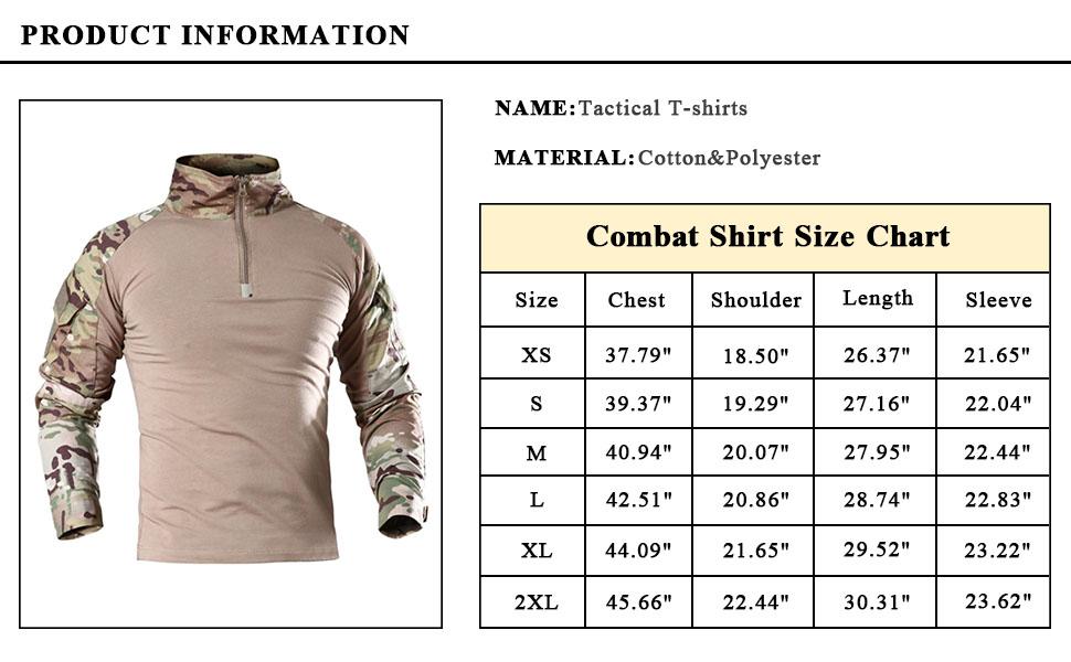 BDU shirt for men