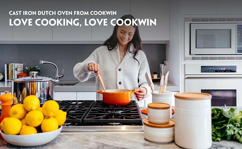 cookwin cast iron dutch oven