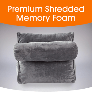 Premium Shredded Memory Foam