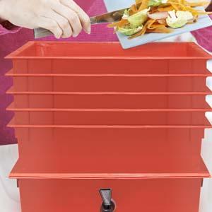 Worm Compost Bin, scraps, food waste, recycle
