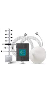 ANNTLENT Amplificador Señal Movil 2G 3G 4G Tri-Banda ...