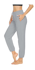 joggers for women with drawstring sweatpants for women with pockets women comfy joggers
