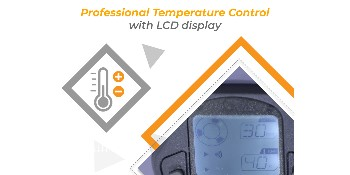 temperature control with lcd display
