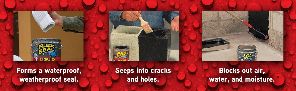 Advantages of Flex Seal Liquid.