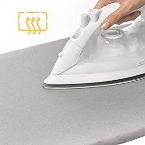 ironing board cover silicone surface