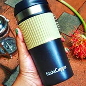 InstaCuppa Thermos Travel Mug will Perfectly Fit Into Your Hand