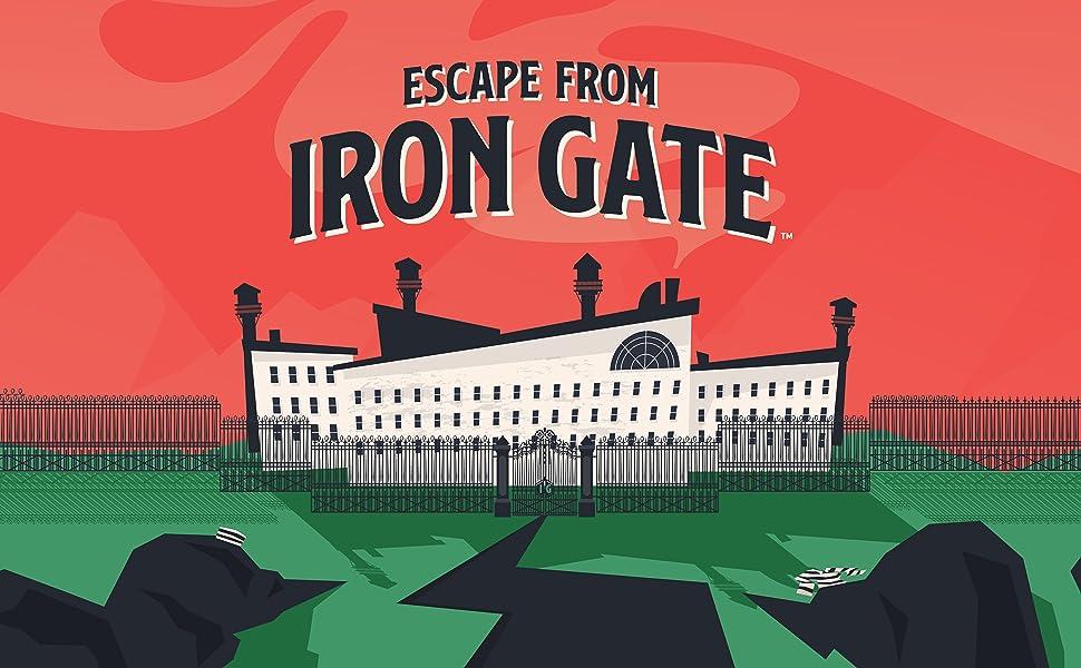 escape from iron gate immersive escape room in a box board game
