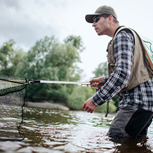 catching and releasing net