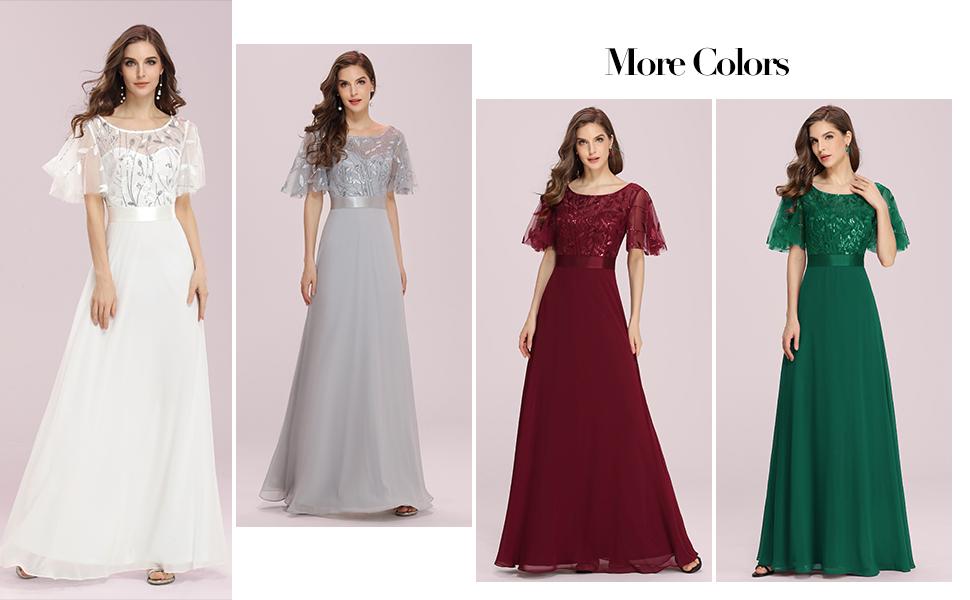 more colors bridesmaid dresses
