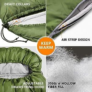 all weather sleeping bag