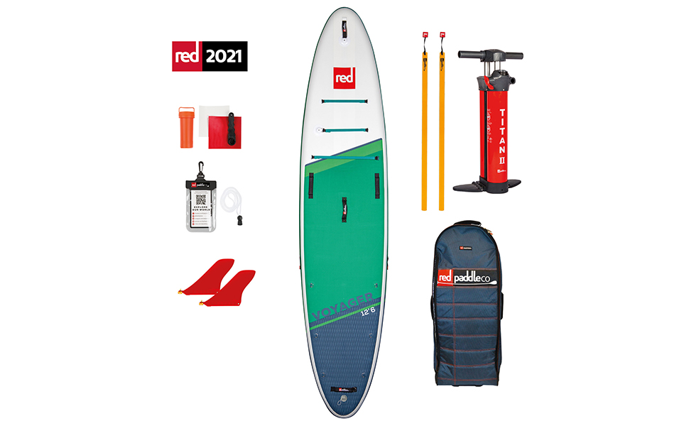 Red Paddle Co, Voyager, Package