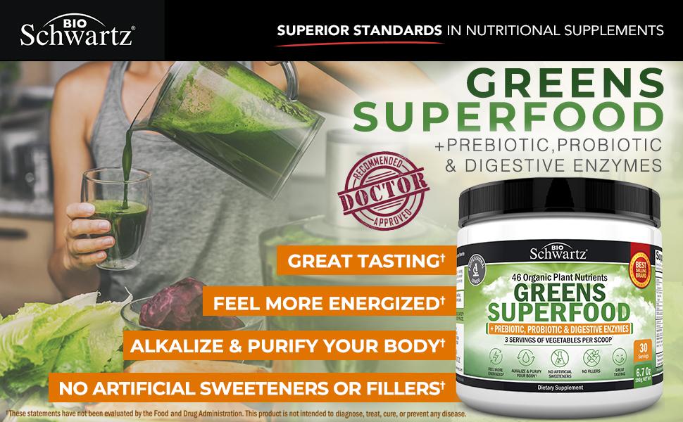 Greens Superfood EBC