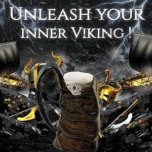 Drinking horn mug costume viking beer mug belt men medieval drinking game sword thrones odin mead
