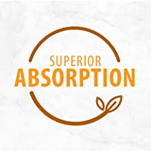 SUPERIOR ABSORPTION