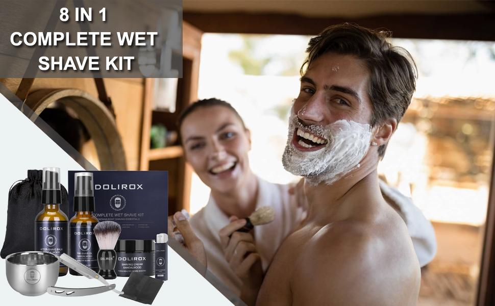 shaving gift set for men