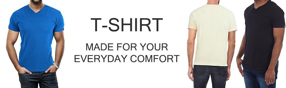 Tees, T-shirt, V-neck, Short sleeve t-shirt