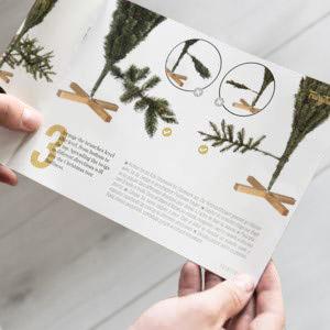 Künstlichen Weihnachtsbaum montieren - Montageanleitung