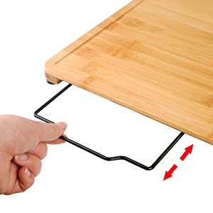 cutting board with stand
