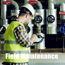 ruggedized Pocket PC for field maintenance engineering data capturing industrial process control