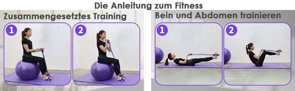 Die Anleitung zum Fitness 1