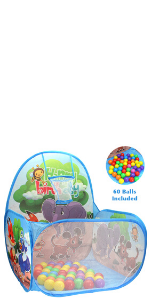 Forest Animals Ball Pit kids gift toddlers ball included playhouse tent girls boys kid kids indoor