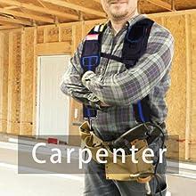Carpenter Tool Belt Suspenders