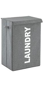 laundry hamper basket with lid