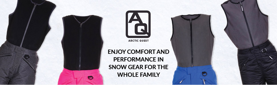 Arctic Quest Unisex Boys and Girls Ski /& Snow Bib Overall