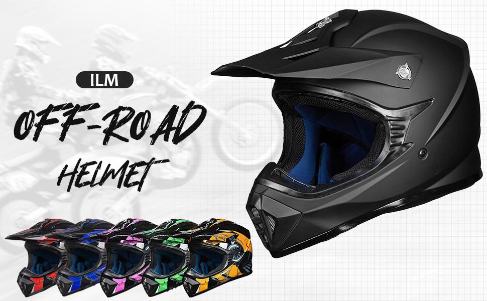 helmet bike for helmets kids motorcycle dirt atv youth face full adult motocross red black